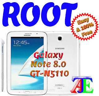 CF Auto Root Galaxy Note 8.0 GT-N5110 kitKat