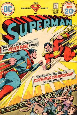 Superman #276, Captain Thunder, the original Captain Marvel, Shazam