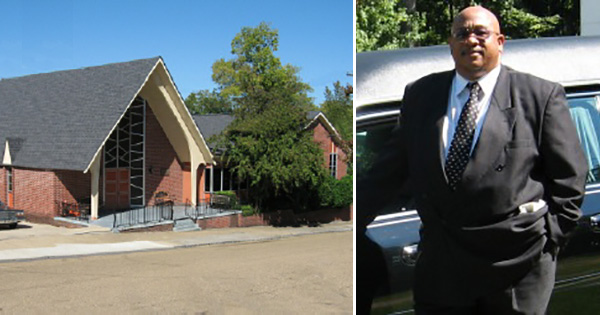 James E. Jefferson, Jr., owner and funeral director at W. H. Jefferson Funeral Home