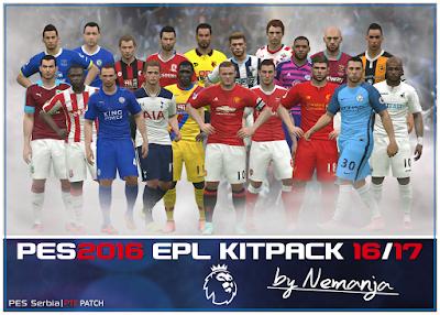 EPL 2016/17 Kitpack V1