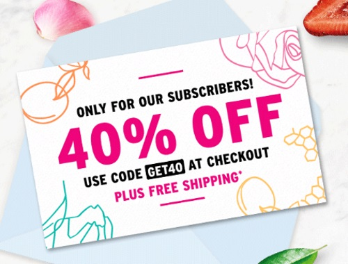 The Body Shop Secret Sale 40% Off + Free Shipping