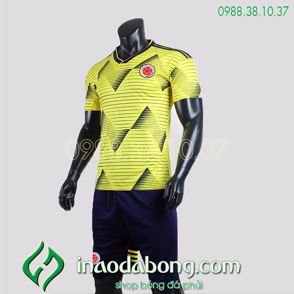 Áo bóng đá đội tuyển Colombia màu vàng 2020
