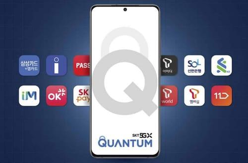 Galaxy Quantum 2 has built-in quantum encryption