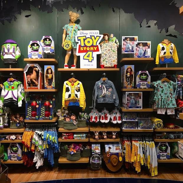 Dan Pixar Fan Events Disney Store Toy Story 4 Merchandise Release