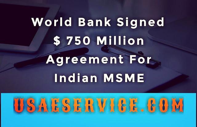 World Bank Signed $ 750 Million Agreement