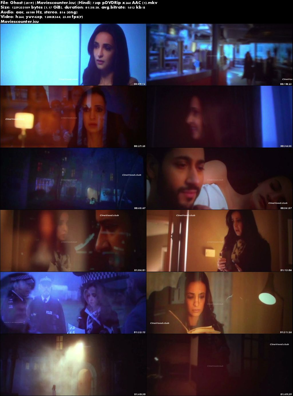 Screen Shots Ghost 2019 Hindi HD 720p