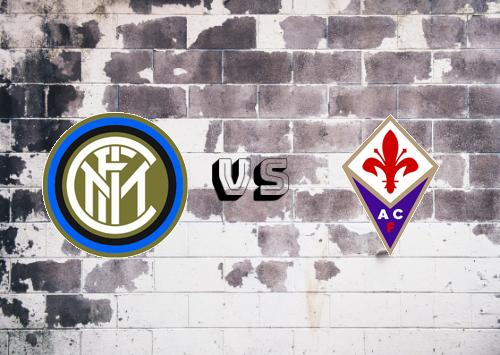 Internazionale vs Fiorentina  Resumen y Partido Completo