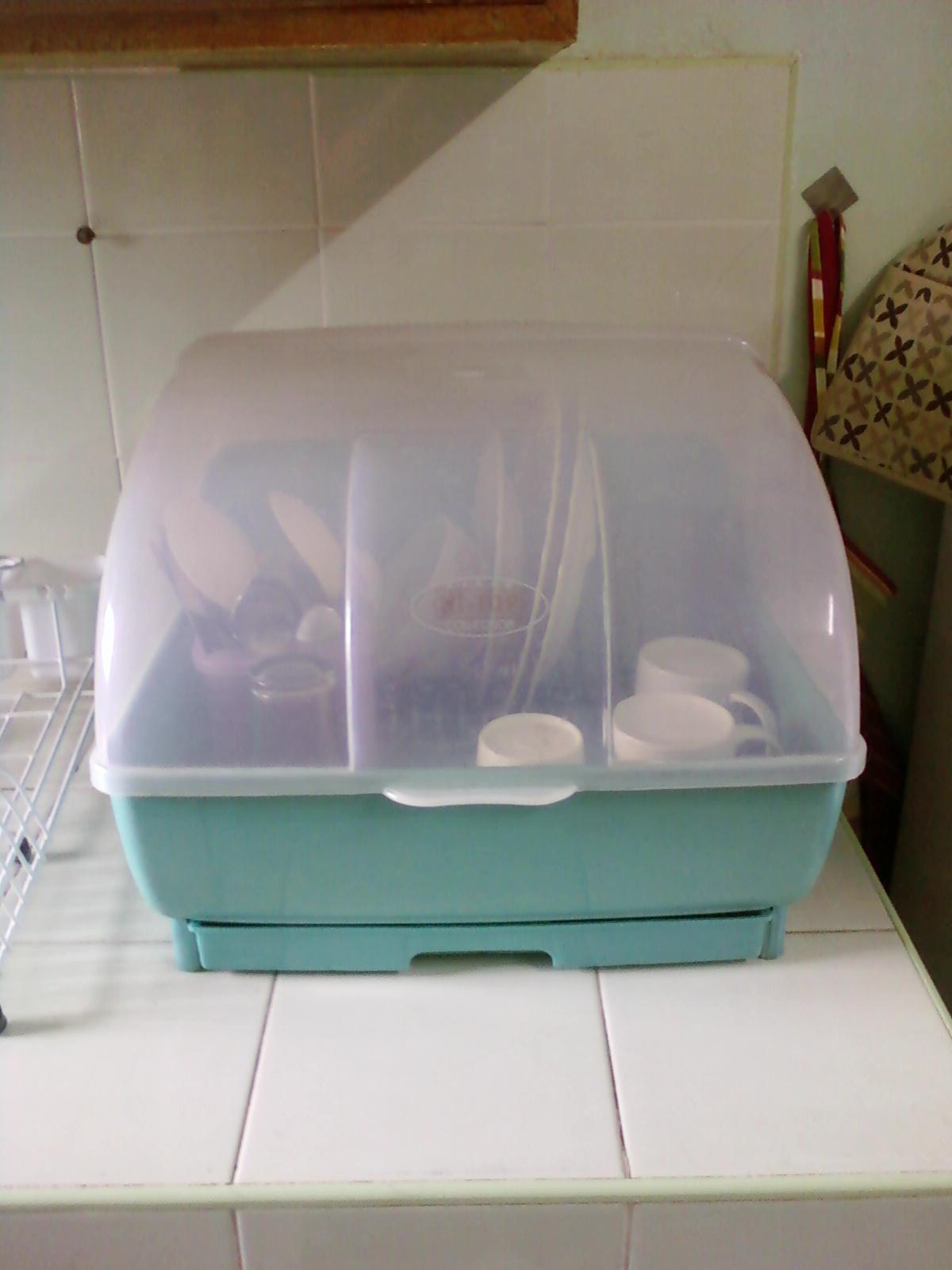 house keeping dish rack cover. Black Bedroom Furniture Sets. Home Design Ideas