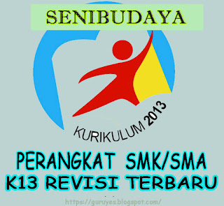 RPP SMA/SMK  Seni Budaya kelas 10 Kurikulum 2013 Revisi 2018