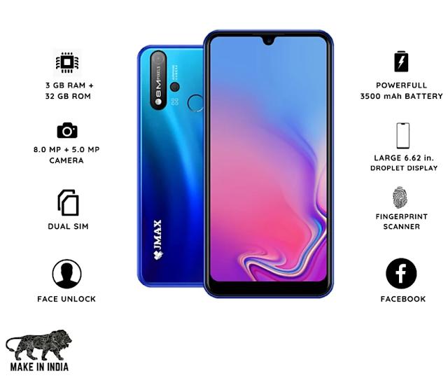 Jmax G1 Pro  इंडियन ब्रांड Smartphone जो कि सिर्फ ₹5299 में मिल रहा है जाने इस मोबाइल की स्पेसिफिकेशन