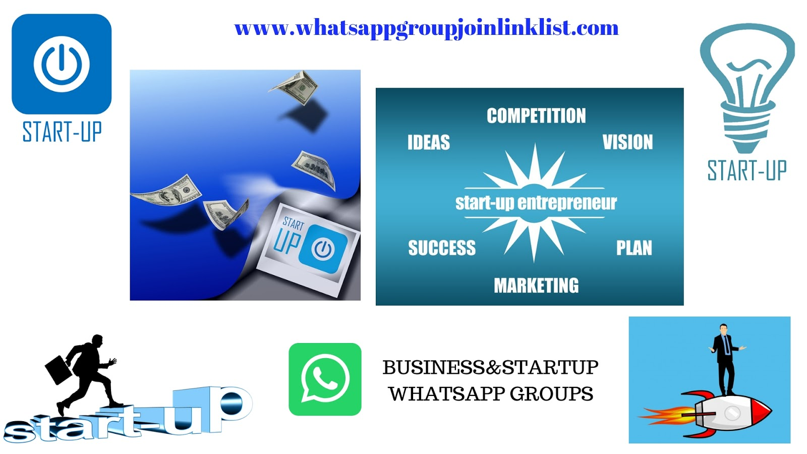 Business & Startup WhatsApp Group Join Link List