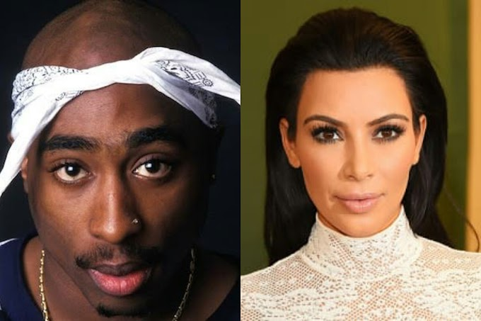 Kim Kardashian Shares 1994 Tupac Video Feat. her - Watch