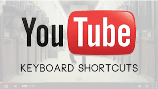 اختصارات لوحة المفاتيح لليوتيوب و أسرار للتحكم في الفيديو و التعليقات