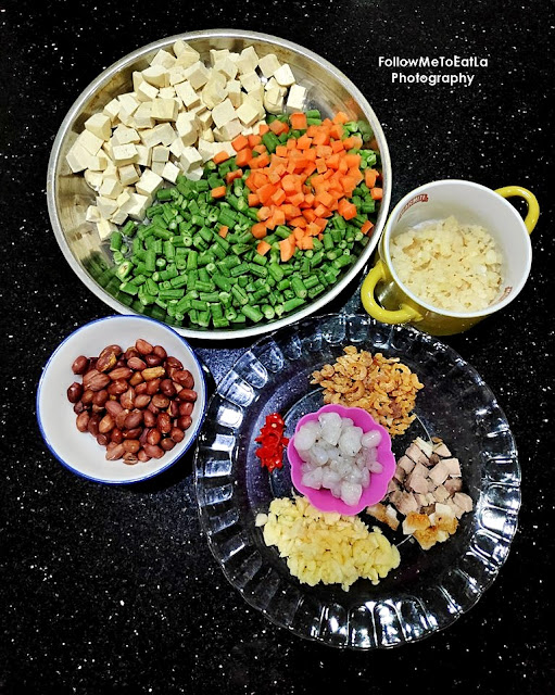 Chau Lup Lup Stir-Fried Mixed Vegetables From Auntie Lilly's Kitchen