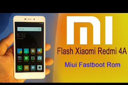 Cara Flash Xiaomi Redmi 4A Rom MIUI 8 Global Stable