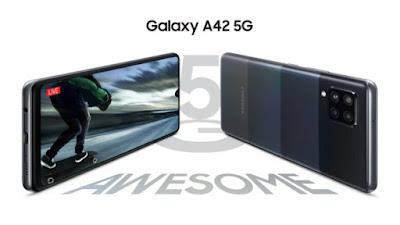مواصفات Galaxy A42 5G ومميزات وسعر هاتف سامسونج الجديد