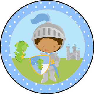 Afro Baby Prince Free Printable Cupcake Toppers.