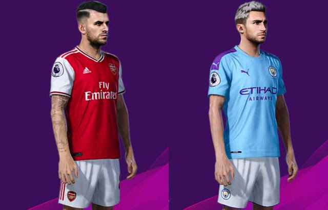 Ceballos and Laporte Face Update by raden For PES20