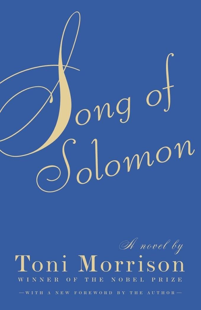 Song of Solomon by Toni Morrison 2020