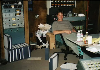 picture of Mike Terry in Sound City, Studio A circa 1999