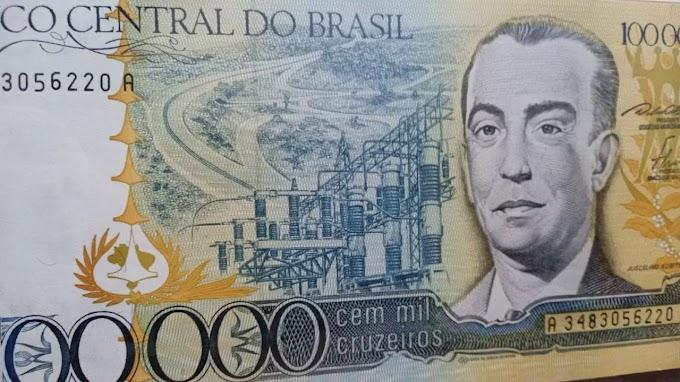 100.000 MIL CRUZEIROS – Ela está valorizando!