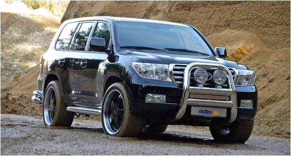 Cho thuê xe 7 chỗ Toyota Landcruiser VIP