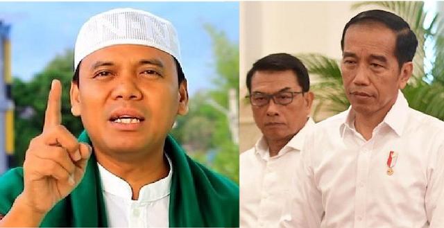 Gus Nur Mubahalah dengan Jokowi