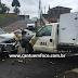 Acidente em Guarapuava envolve veículo do IML