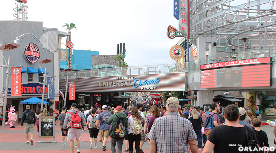 Entrada do Universal City Walk
