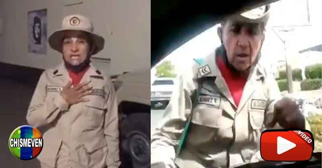 Régimen obligó a miliciana chavista a hacer video diciendo que estaba loca