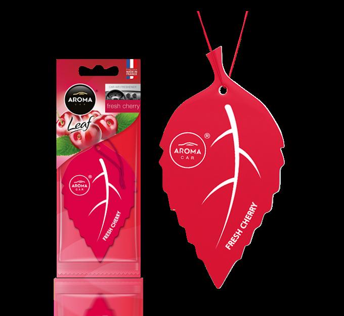 Lá thơm Aroma Car Leaf - Fresh Cherry