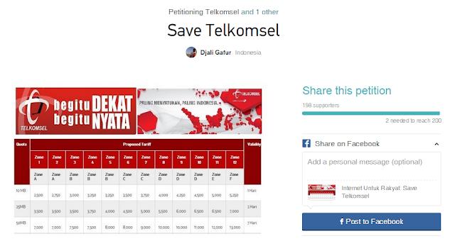 Petisi Telkomsel