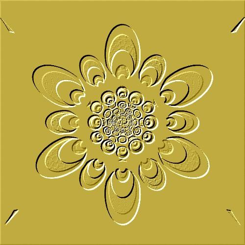 Gold Vintage Art