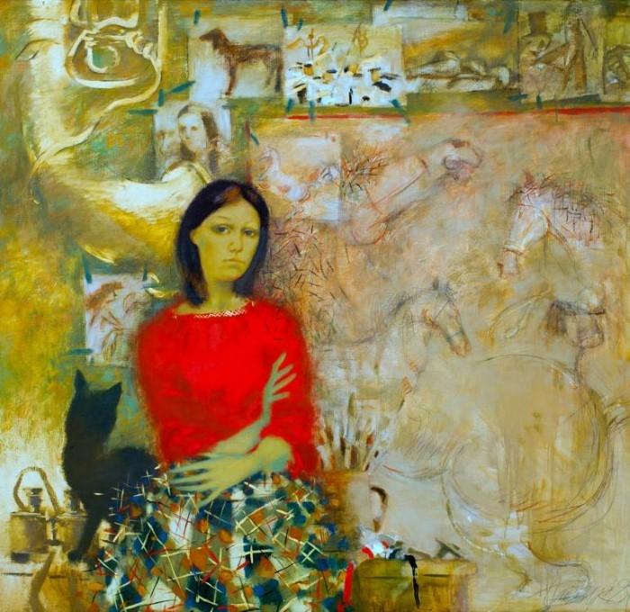 Профессиональный латвийский художник.