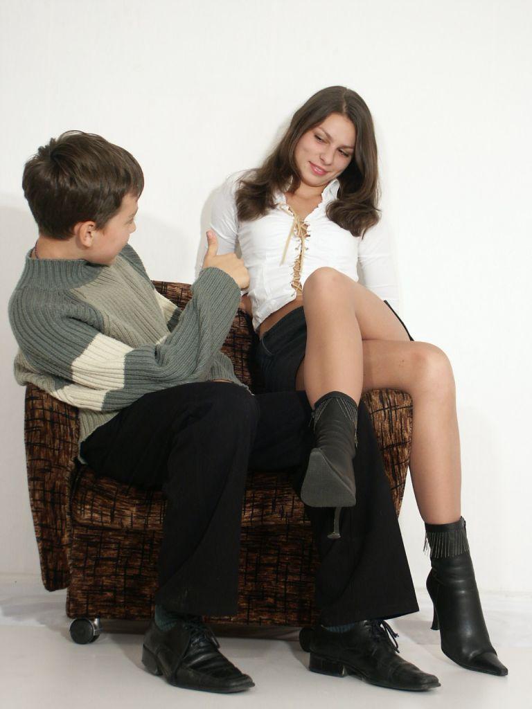 Boy gets seduced by girl #1