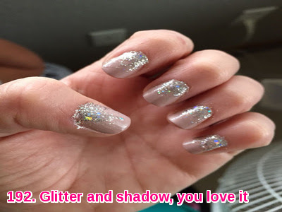 Glitter and shadow, you love it