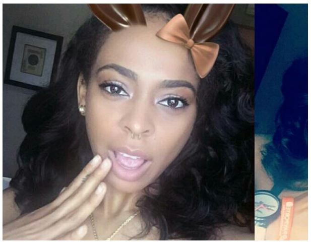 TBoss Goes Semi-N*d3, Poses With B.r@ Only As She Shows Of Her Pierced N**pl.e.s [Photos]