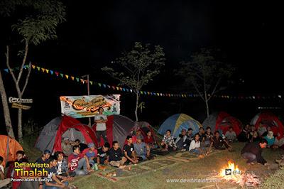Tempat Makrab dan Camping Favorit di Yogyakarta – Desa Wisata Tinalah