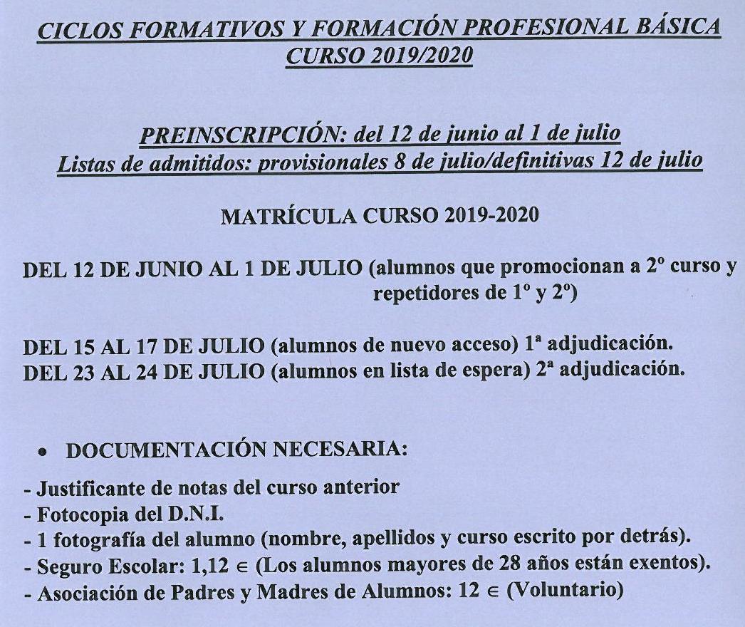 Ciclos Forestales En La Rioja Junio 2019