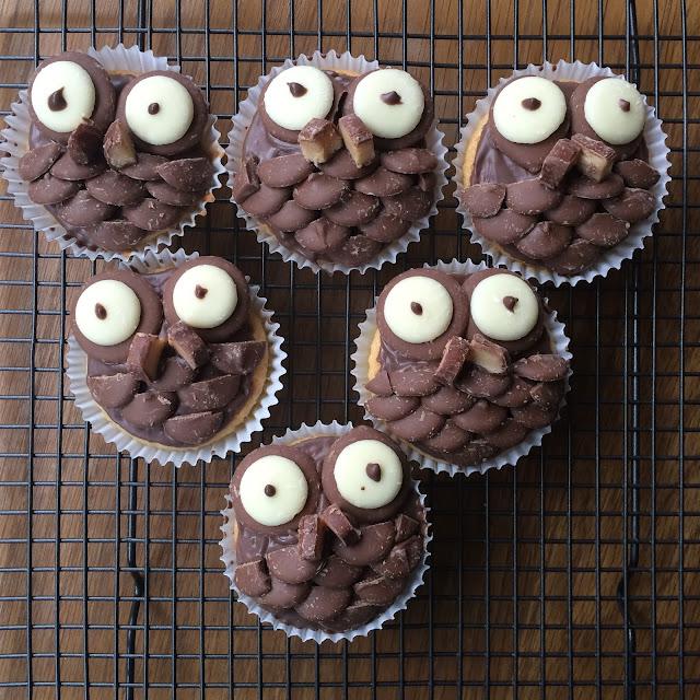 Owl-Cupcake-Recipe-Blogmas