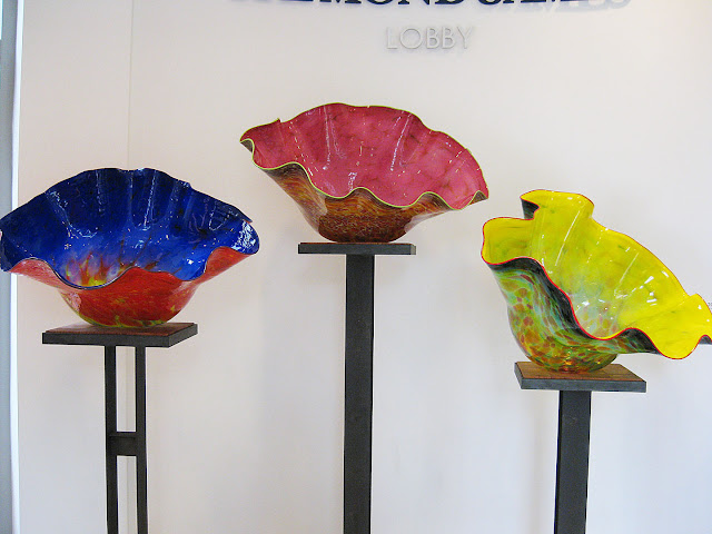 bowls from Chihuly's Macchia Colleciton, my favorite