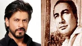 Shahrukh khan to play Sahir Ludhianavi on Screen