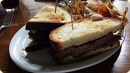 Mouthwatering AleHouse meatloaf sandwich from Preservation Kitchen