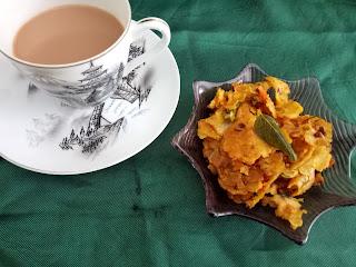 Leftover chapati snack