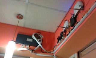 cara merapikan kabel-kabel di warnet