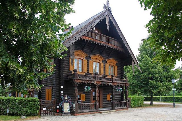 русские в Германии,русские деревни,дома в Германии