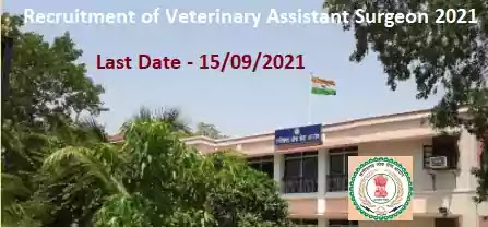 Chhattisgarh PSC Veterinary Assistant Surgeon Recruitment 2021