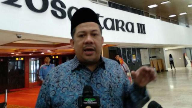 Fahri Hamzah Sebut Pidato Jokowi Mengadu Domba