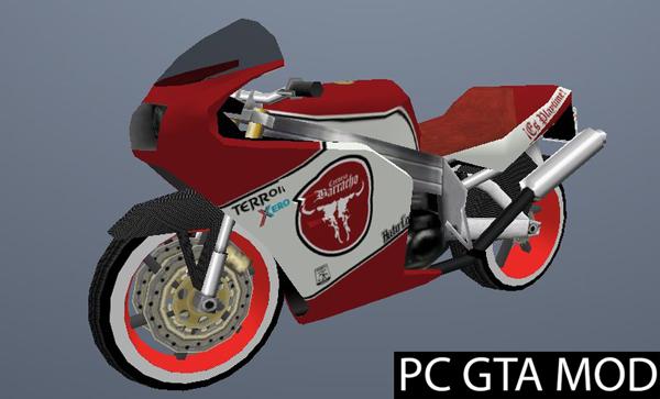 Free Download EL Barracho FCR900  Mod for GTA San Andreas.