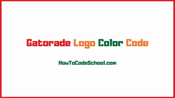 Gatorade Logo Color Code